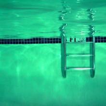 escalera de piscina, por