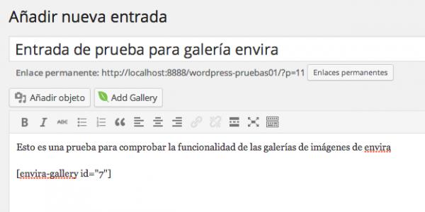 botón de añadir galería (envira)