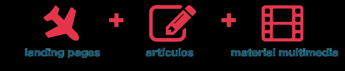 contenidos para tu página web