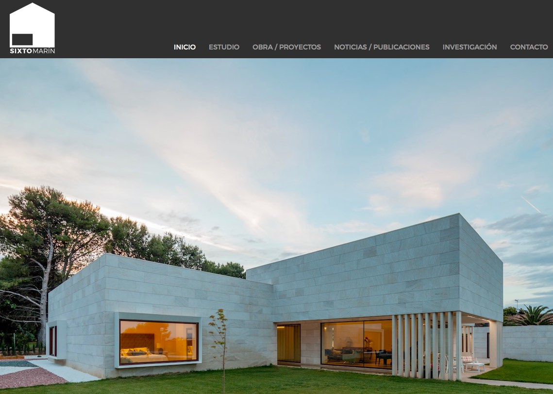 Pagina web de arquitectura monta tu blog for Paginas arquitectura